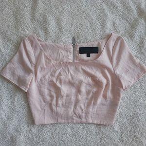 Kendall & Kylie light pink top